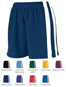 Augusta Girls Wicking Mesh Powerhouse Shorts