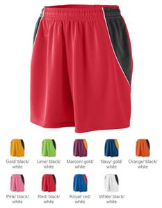 Augusta Womens Wicking Mesh Extreme Shorts