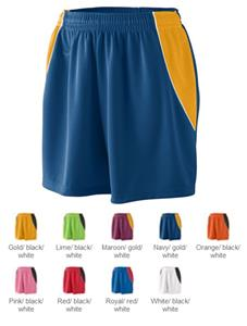 Augusta Girls' Wicking Mesh Extreme Shorts - CO