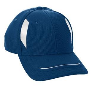 Augusta Youth Adjustable Wicking Mesh Edge Cap