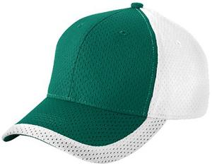 Augusta Color Block Athletic Mesh Cap
