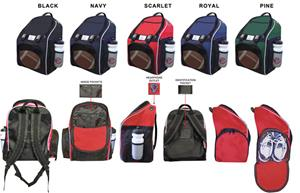 Epic E2 Football Backpacks