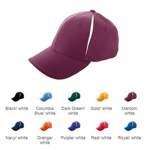 Augusta Sport Flex Color Block Athletic Mesh Cap