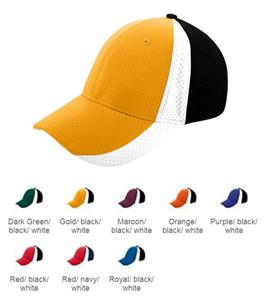 Augusta Sport Flex 3 Color Athletic Mesh Cap