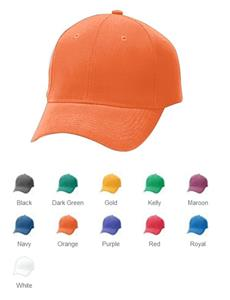 Augusta Youth Sport Flex Brushed Twill 6-Panel Cap