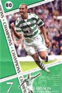 CLOSEOUT - Larsson Soccer Posters -CELTIC