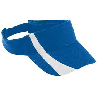 Augusta Youth Adj. Wicking Mesh Two-Color Visor