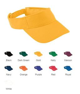 Augusta Sportswear Adjustable Wicking Mesh Visor