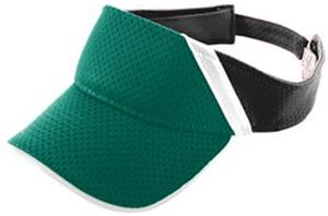 Augusta Athletic Mesh & Dazzle Stripe Visor