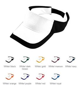 Augusta Color Block Athletic Mesh Visor