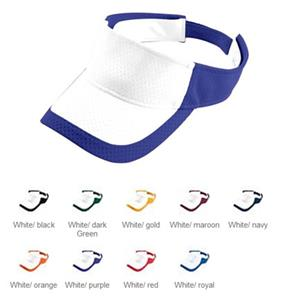 Augusta Youth Color Block Athletic Mesh Visor
