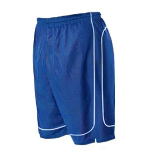Alleson 548PY Youth Mock Mesh Basketball Shorts CO