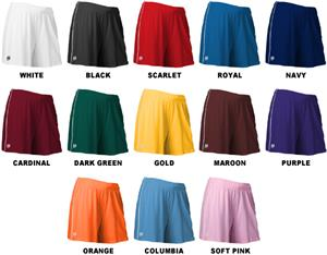 Intensity Women's Cool Mock Piped Sports Shorts