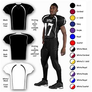 Rawlings Stock Youth Tech Lean-FIT Football Jersey