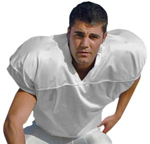 Youth Nylon Mesh Football Jersey w/Dazzle Yoke