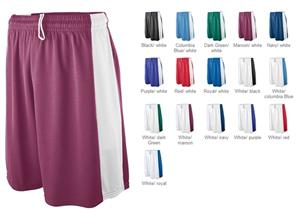 Augusta Adult Wicking Mesh Game Shorts