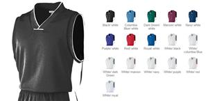 Youth Wicking Mesh Sleeveless Game Jersey