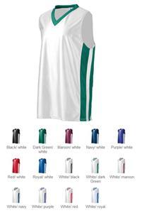 Augusta Dazzle/Mesh Basketball Sleeveless Jersey
