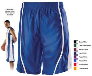 Alleson 546P Adult Reversible Basketball Shorts