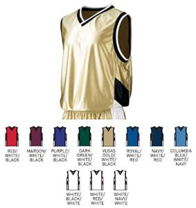 Augusta Youth Tri-Color Dazzle Sleeveless Jersey