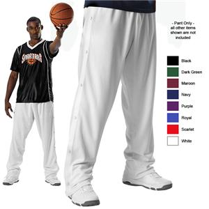 Alleson Adult Basketball Breakaway Warm-Up Pants