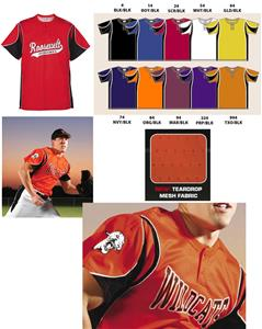 Teamwork Adult Crossbow 2-Button Baseball Jerseys