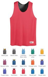 Augusta Youth Tricot Mesh Reversible Tank