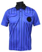 Official Soccer Referee Jerseys-SHORT-Sleeve-ROYAL