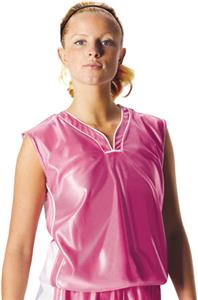 Alleson 547W Womens Pink Dazzle Basketball Jerseys