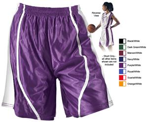 Alleson 546PW Women&#39;s Reversible Basketball Shorts
