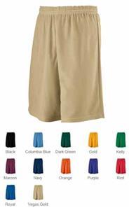 Augusta Longer Length Mini Mesh League Short