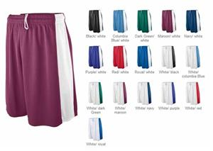 Augusta Womens Wicking Mesh Game Basketball Short