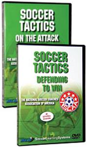 NSCAA Soccer Tactics (2-DVDs) training videos