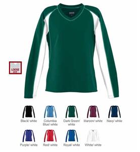 Augusta Womens Wicking Mesh Charger L/S Jersey