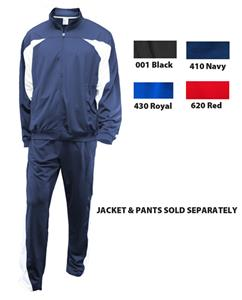 Soffe Youth Poly Splice Warm-Up Jackets