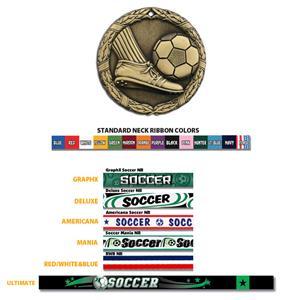 Hasty Awards Soccer Medal M300S