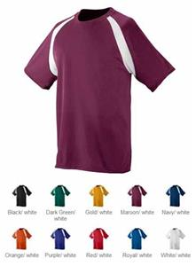 Augusta Youth Wicking Color Block Soccer Jersey