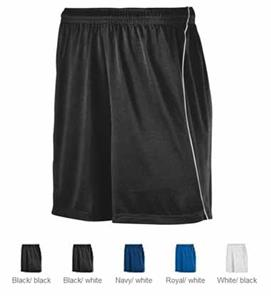 Augusta Wicking Soccer Short with Piping