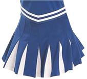 Cheerleaders 16 Pleated White Panels Skirt CF2045S