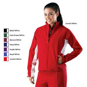 Alleson Women's Water Repellant Warm-up Jackets