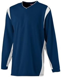 Augusta Wicking Long Sleeve Soccer Warmup Shirt