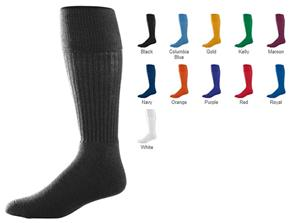 Augusta Adult Knee-Length Tube Soccer Socks