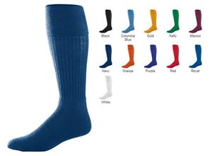 Augusta Youth Knee-Length Tube Soccer Socks