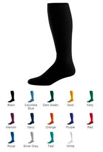 Youth Athletic Knee-Length Soccer Tube Sock