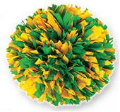 2 Color Mix Plastic Cheerleaders Poms