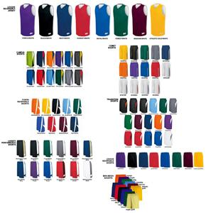 League Reversible Basketball Jersey Uniform Kits