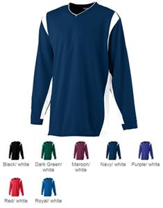Wicking Long Sleeve Youth Warmup Shirts