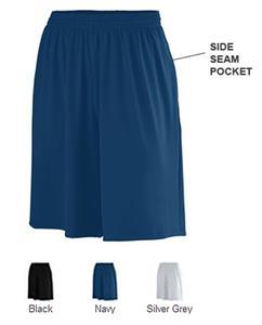 Augusta Sportswear Poly/Spandex Shorts w/ Pockets