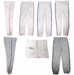 Fabnit Adult Baseball Pants w/Piping Closeout