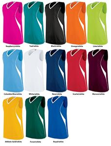 High Five Wave Sleeveless Volleyball Jerseys